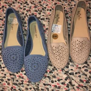 2pair of flats slightly used